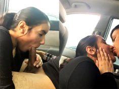 ดูดแฟนในรถ