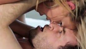 Small tits pornstar blowjob and cumshot